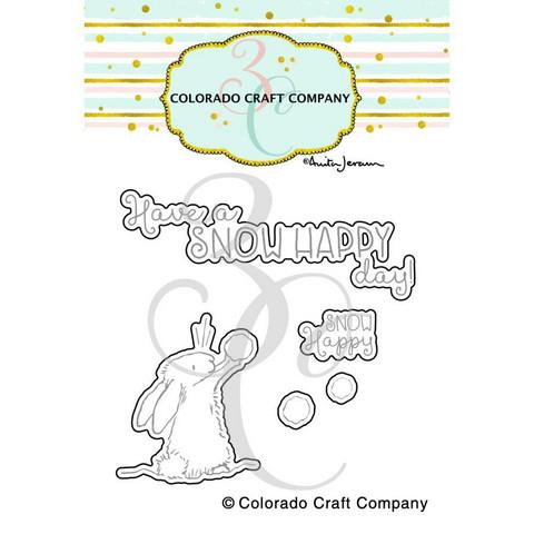 Colorado Craft Company Anita Jeram stanssisetti Snow Happy