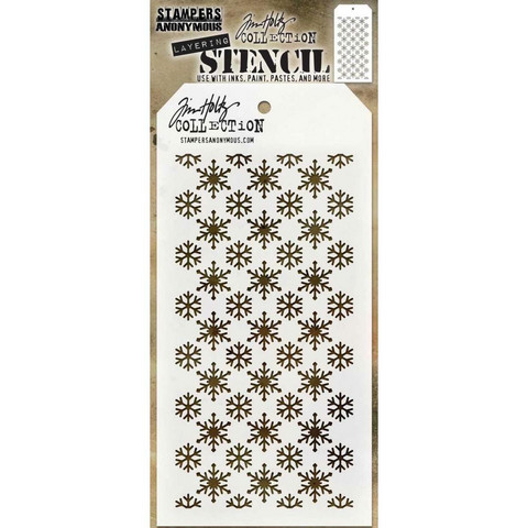 Tim Holtz Flurries -sapluuna