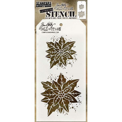 Tim Holtz Poinsettia Due -sapluuna
