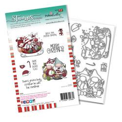 Polkadoodles Sleigh the Season -leimasinsetti