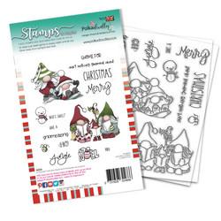 Polkadoodles Gnomeazing Christmas -leimasinsetti