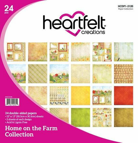 Heartfelt Creations paperipakkaus Home on the Farm