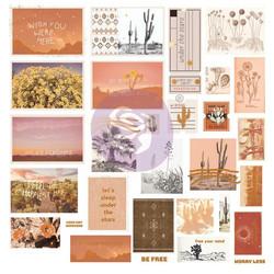 Prima Golden Desert Ephemera die-cuts, leikekuvat