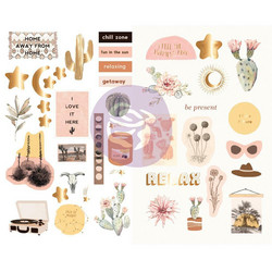 Prima Golden Desert - Chipboard tarrat