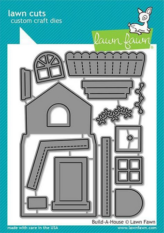 Lawn Fawn stanssisetti Build-A-House