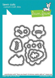 Lawn Fawn stanssisetti How You Bean? Christmas Cookie Add On