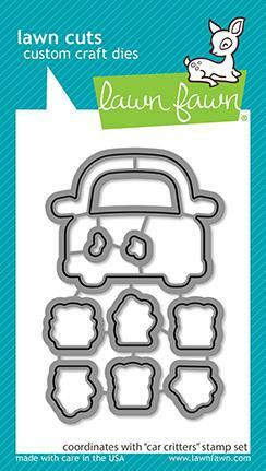 Lawn Fawn stanssisetti  Car Critters
