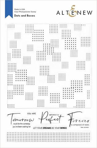 Altenew Dots and Boxes -leimasinsetti
