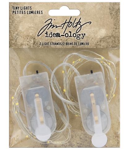 Tim Holtz Idea-Ology Tiny Lights -valot. 2 kpl