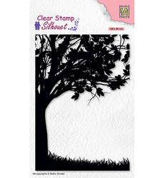 Nellie's Choice leimasin Silhouette Tree