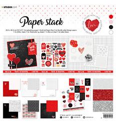 Studio Light paperipakkaus Filled With Love, 12