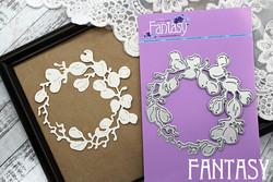 Fantasy Dies stanssi Firebloom Wreath