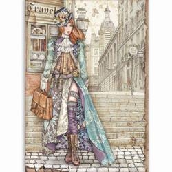 Stamperia riisipaperi Lady Vagabond
