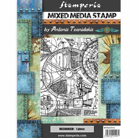 Stamperia Mixed Media leimasin Sir Vagabond, Mechanism