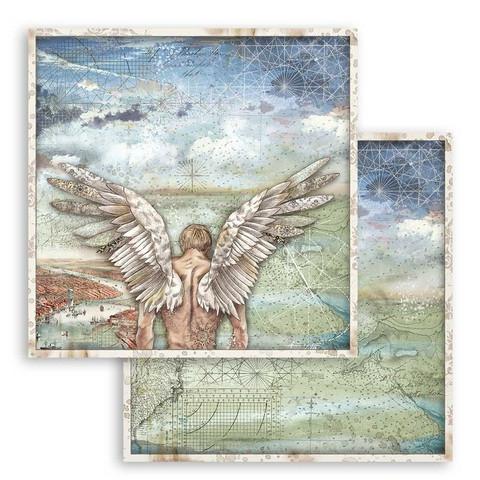 Stamperia Sir Vagabond skräppipaperi Wings