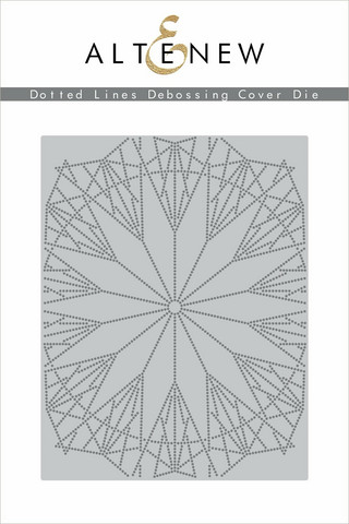 Altenew stanssi Dotted Lines Debossing Cover