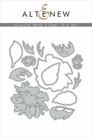 Altenew Layered Wood Flower -stanssisetti