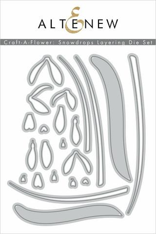 Altenew Craft-A-Flower: Snowdrops -stanssisetti