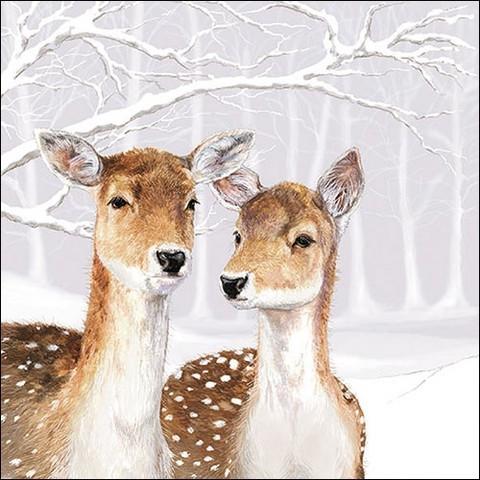Servetti Fallow Deer In Winter, 20 kpl