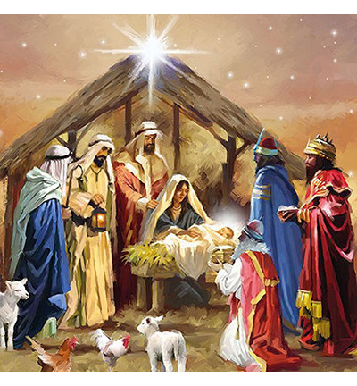 Servetti Nativity Collage, 20 kpl