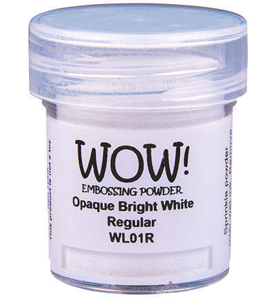 Wow! 160 ml -kohojauhe, sävy Opaque Bright White, Regular (O)