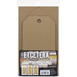 Tim Holtz Etcetera Tombstone Overlay Small