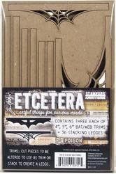 Tim Holtz Etcetera Bat & Web Trims