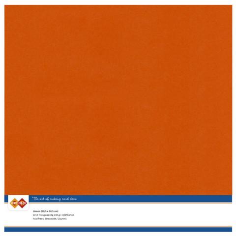 Kartonki, 30.5 x 30.5, sävy Autumn Orange