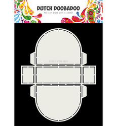 Dutch Doobadoo Cart Art Donut -sapluuna