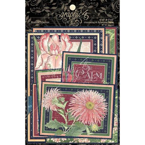Graphic45 Blossom Ephemera -leikekuvat