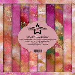 Dixi Craft Blush Watercolour -paperipakkaus