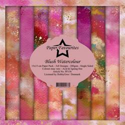 Paper Favourites Blush Watercolour -paperipakkaus