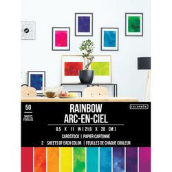 Colorbök paperikko Rainbow, 50 arkkia
