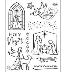 Viva leimasinsetti Holy Night