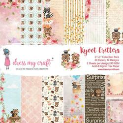 Dress My Craft paperipakkaus Kyoot Critters