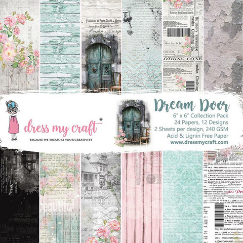 Dress My Craft paperipakkaus Dream Door