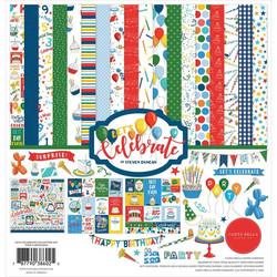 Carta Bella Let's Celebrate -paperipakkaus, 12