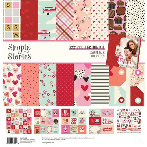 Simple Stories Sweet Talk -paperipakkaus, 12