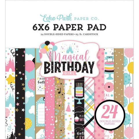Echo Park Magical Birthday Girl -paperipakkaus