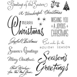 Stampers Anonymous, Tim Holtz leimasinsetti Christmastime #3