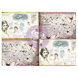 Finnabair Art Daily Tissue -paperi Journaling Minis, Ladies World