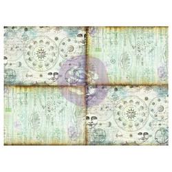 Finnabair Art Daily Tissue -paperi Journaling Minis, Celestial Music