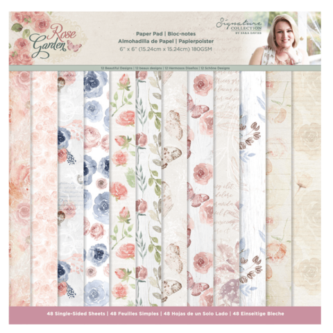 Crafter's Companion Rose Garden -paperipakkaus