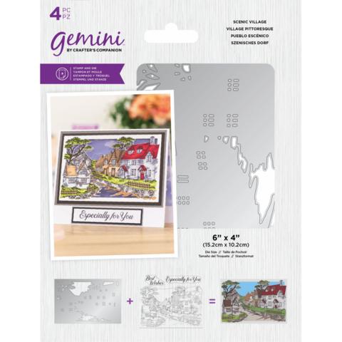Gemini leimasin- ja stanssisetti Scenic Village