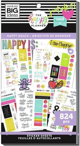 Mambi Happy Planner Value Pack -tarrapakkaus Happy Goals