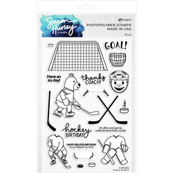 Simon Hurley leimasinsetti Hockey Buddies