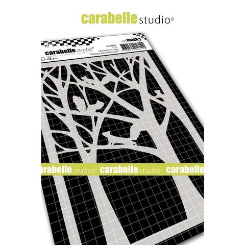 Carabelle Studio Squirrel Trees -sapluuna