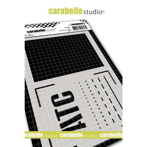 Carabelle Studio ATC -sapluuna