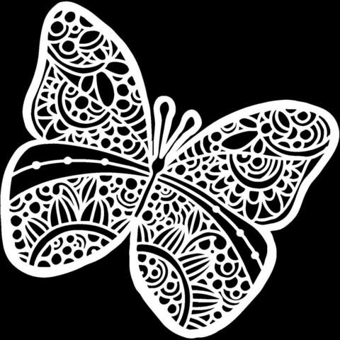 Crafter's Workshop sapluuna Sunny Butterfly
