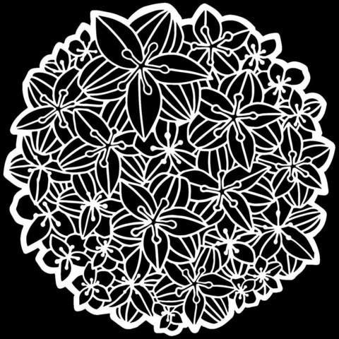 Crafter's Workshop sapluuna Peruvian Lily